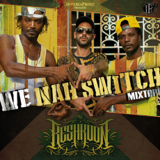 Pochette de la Mixtape Nah Switch - We Nah Switch. Réalisé par Keshkoon.